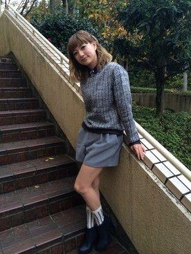 伊藤千晃(AAA)│Suppのスウェットコーディネート