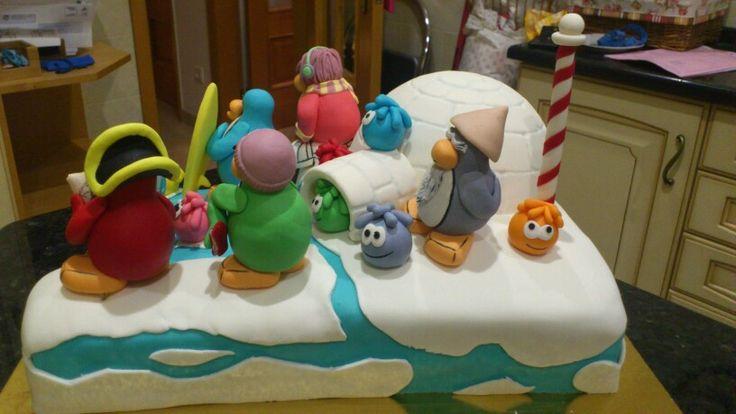 Clube pinguim cake 2