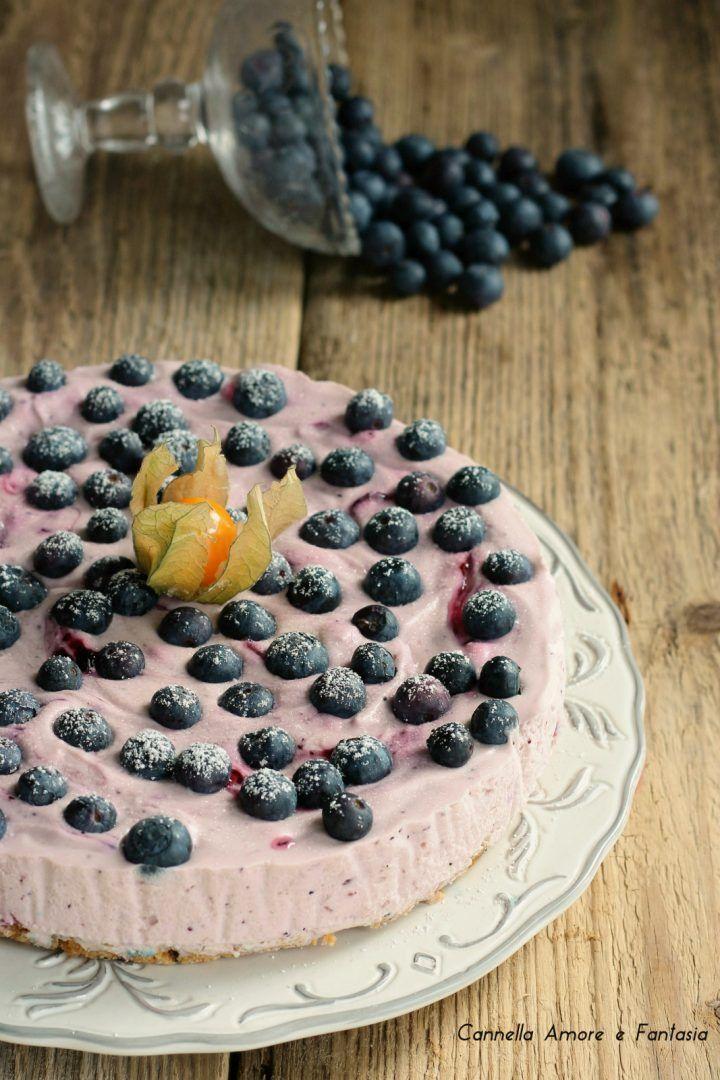 Cheesecake ai mirtilli senza glutine ricetta facile e golosa