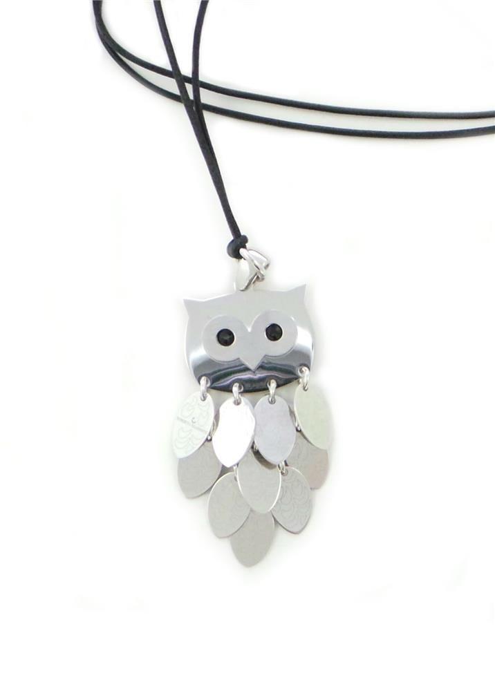 #necklace #jewelry roberto_giannotti - pendente gufo snodato - SFA151