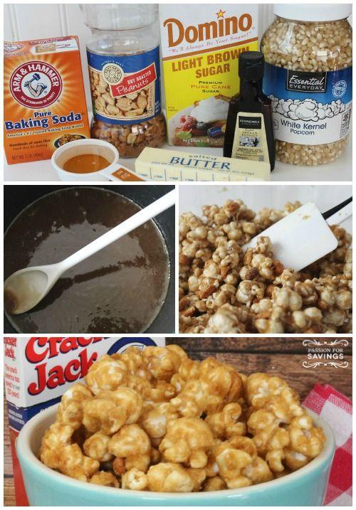 Homemade Cracker Jacks   Recipe   Recipe