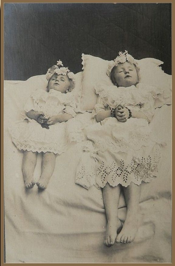 Post Mortem - Rosana Raven ☥~  . 19th century post mortem photography, commonly sent as post cards.