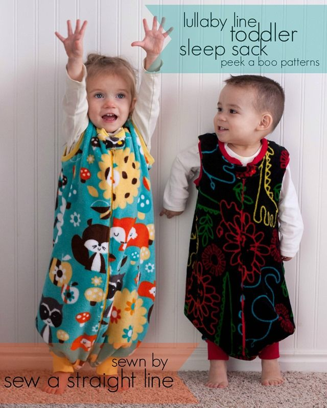 Toddler sleep sacks!  a pattern review of Peek a Boo Pattern's Sleep Sack.  This is my favorite pattern for baby showers.  Takes about 90 minutes from start to finish, and compliments any baby gift.
