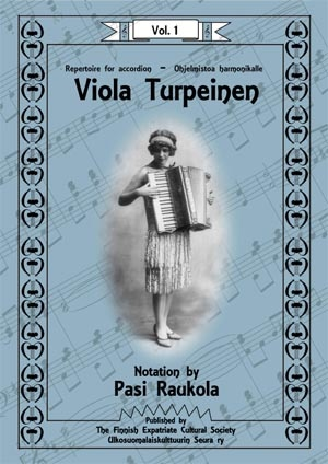 Viola Turpeinen - Software - accordion - Repertoire for Accordion
