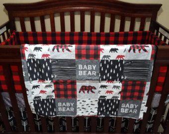 Aventure Moose bébé literie  orignal et ours flèches noires
