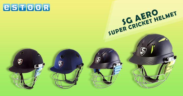 Amazing Offers on SG AERO Super Cricket Helmts !! Shop NOW @ eSTOOR.com