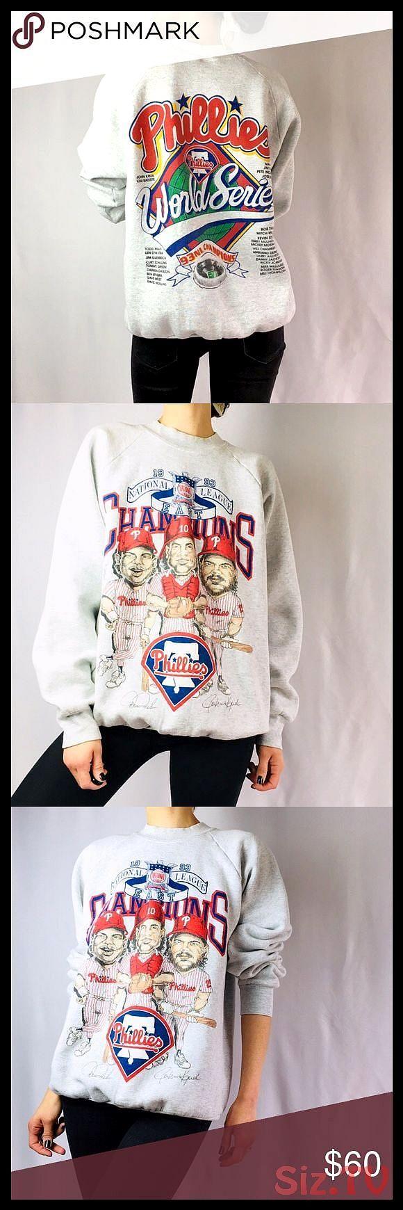 Vintage Phillies Crewneck Sweatshirt Xl Vintage 90s Philadelphia Phillies Crewneck Sweatshirt Size Crew Neck Sweatshirt Sweatshirts Vintage Crewneck Sweatshirt [ 1740 x 580 Pixel ]