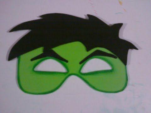 video de antifaz hulk - YouTube