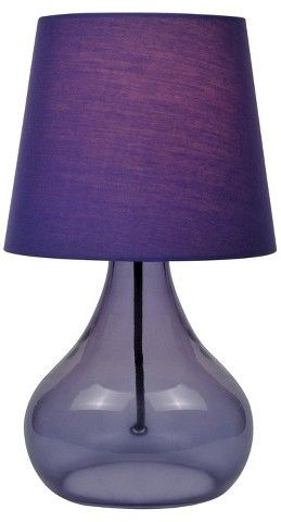 2018 pantone color of the year, pantone color of the year 2018, Lite Source Jamie Table Lamp - Purple, pantone ultra violet, dark purple lamp shade
