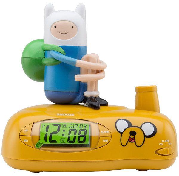 Adventure Time Alarm Clock Radio