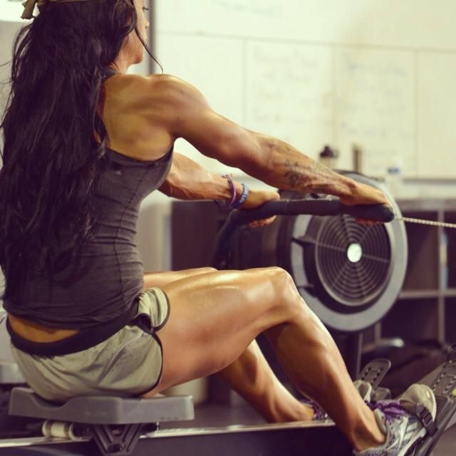 get it on the #erg... by far one of the hardest, most effective, all-body workouts ever