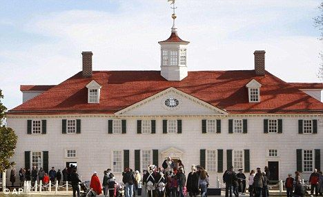Celebration: The estate in Virginia of George Washington. The story of how Washington became the 'blackest name' begins with slavery