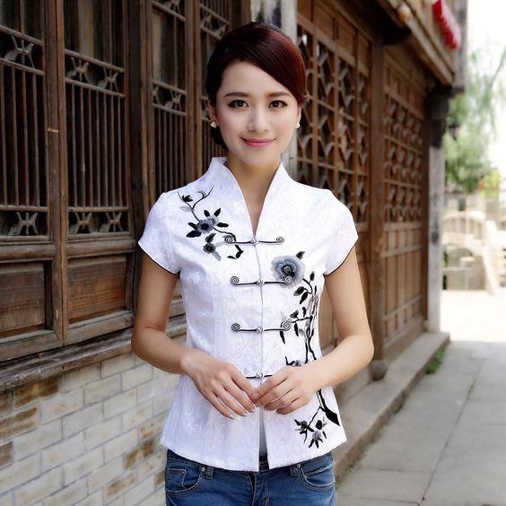 Cheongsam t-shirt