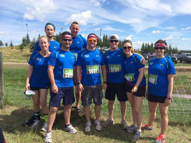 #throwbackthursday!! Just another way the team loves spending their time together!! Last August, Team Tundra participated in the Mud Hero race in Red Deer! The gang had a lot of fun together, getting in the mud and supporting charities like the Alberta Cancer Foundation. With a fantastic timing of just over an hour, Team Tundra completed the 6KM course... which included 16 obstacles spread over a ski hill!