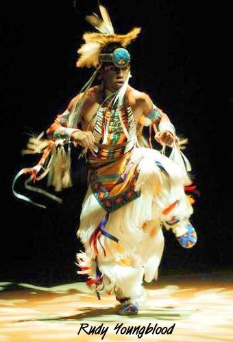 Rudy Youngblood - Native American Grass Dancing