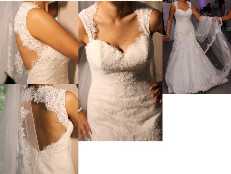 ♥ Brautkleid Spitze Ivory 34/36 Cosmobella 2014 Demetrios ♥  Ansehen: http://www.brautboerse.de/brautkleid-verkaufen/brautkleid-spitze-ivory-3436-cosmobella-2014-demetrios/   #Brautkleider #Hochzeit #Wedding