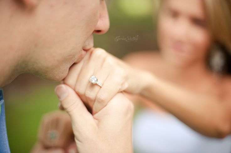 Different ring shot....cute for engagement shots