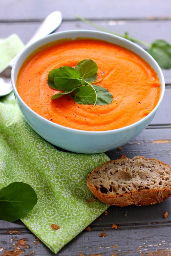 Carrot Ginger Soup #recipes | :: veggie cuisine :: | Pinterest
