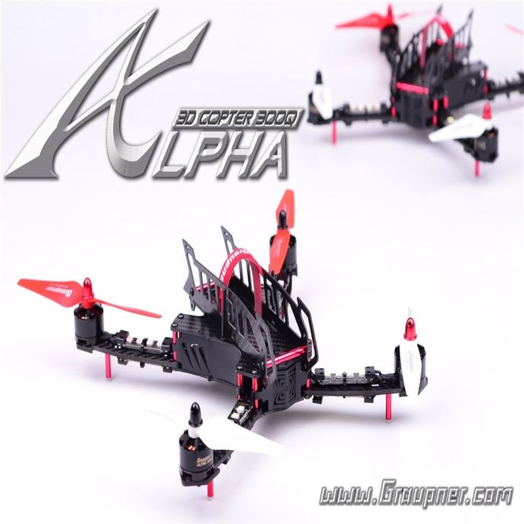 369.00$  Watch here - http://aliu1z.worldwells.pw/go.php?t=32691175305 - Graupner Alpha 300Q 3D Race Copter RFH  RC Race Copters RC plane Race Quadcopter