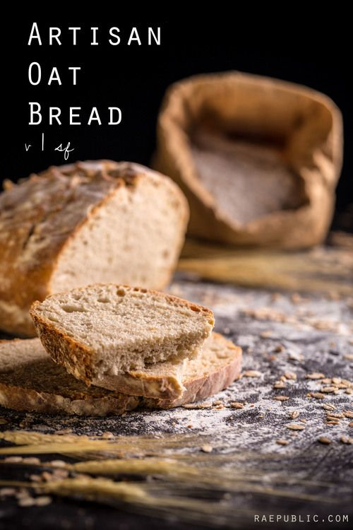 Easy, 6 ingredient vegan artisan oat bread. Made with only the best plant-based whole ingredients.
