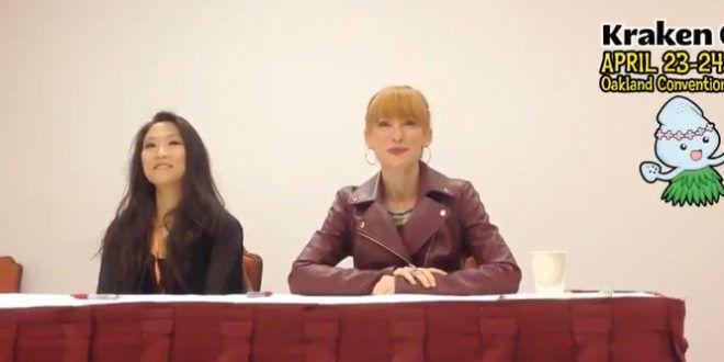 Interview: Karen Strassman and Michaela Dietz at Kraken Con – G33k-HQ