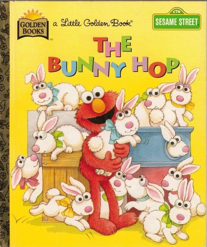 The Bunny Hop Little Golden Book 1977 Easter