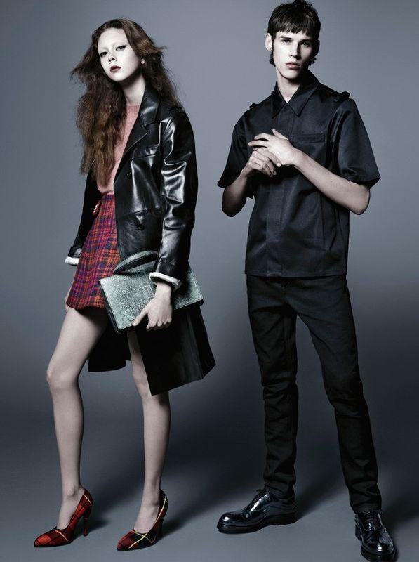 Prada Pre-Fall 2015 Campaign by Steven Meisel - Fashion Copious