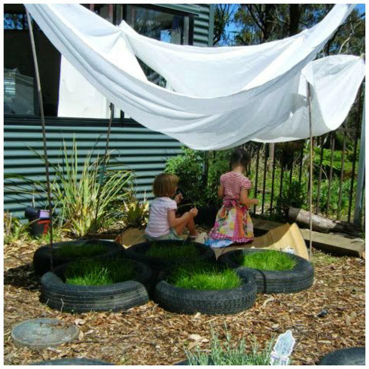 19 DIY backyard play spaces kids will LOVE!