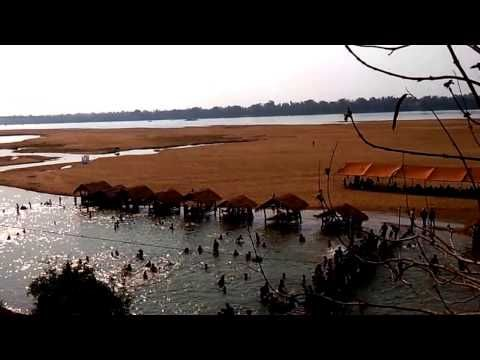 Go swimming, Sandy island at Sekong River- Trip to Stung Treng Cambodia