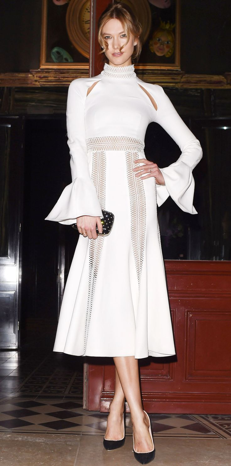 Look of the Day - Karlie Kloss  - from InStyle.com