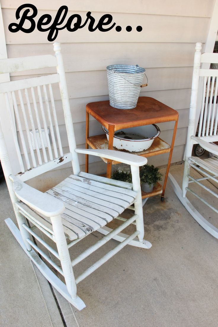 rocking chair makeover rocking chairs provence style rockers furniture ...