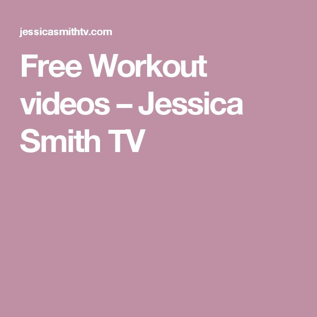 Free Workout videos – Jessica Smith TV