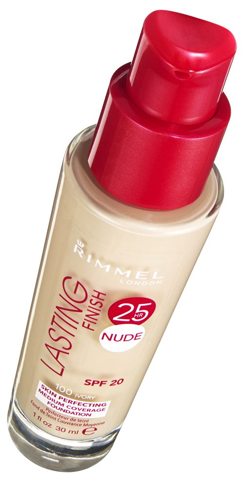 THEY SAY: Sweat, heat, humidity and transfer-proof for up to a full 25 hours. The revolutionary formula, complete with a revitalising mineral complex and moisturising aqua primer, helps to reenergise overworked skin. WE SAY: This is an awesome foundation for the price: easy to blend, long-lasting and with a really expensive-looking finish. SCORE:  8/10 Rimmel London Lasting Finish 25 Hour Nude, £7.99   - Cosmopolitan.co.uk