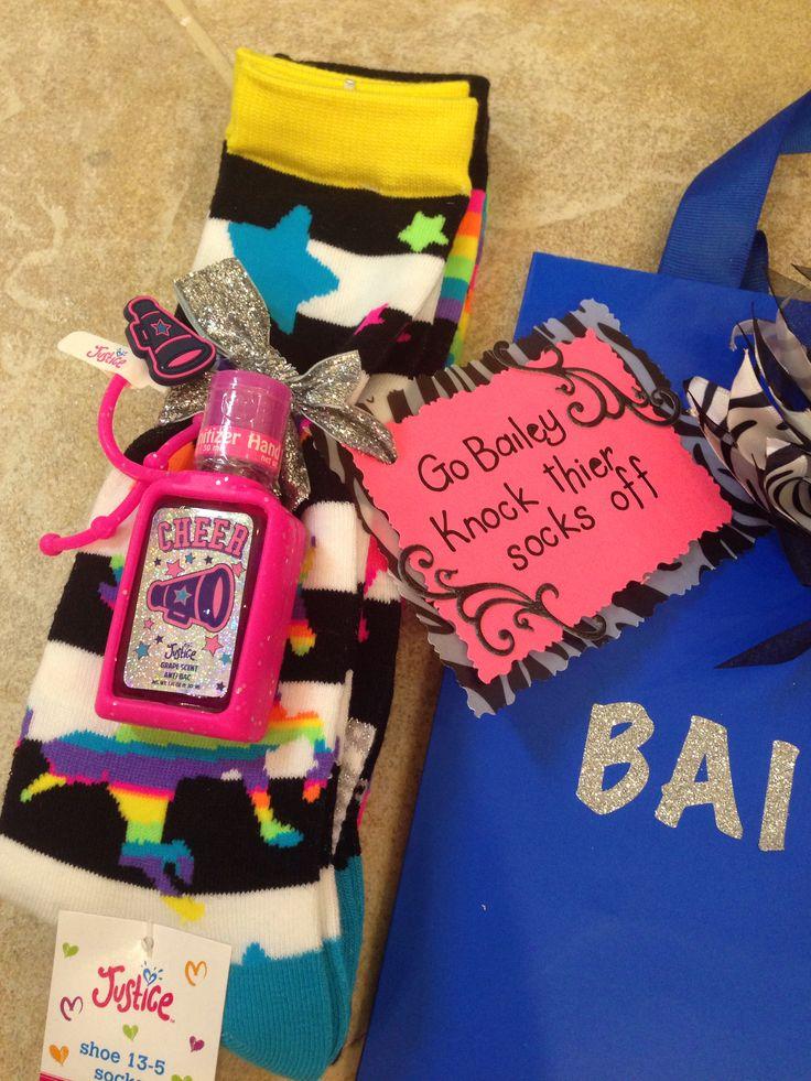 Cheer gift ideas for big sis/little sis cheerleaders