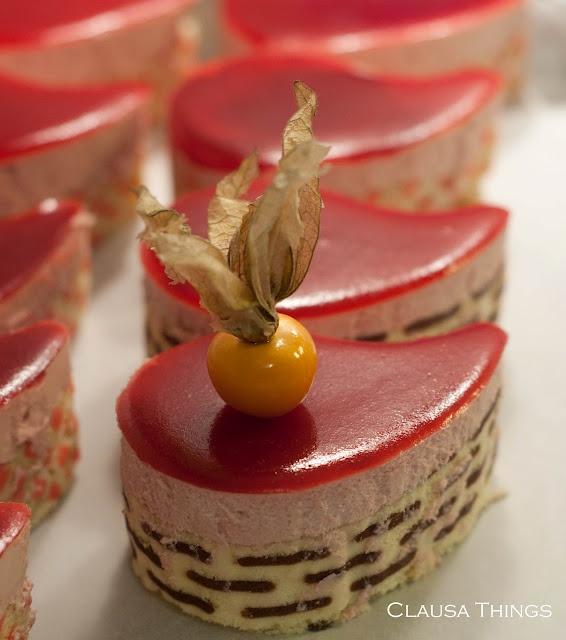 Verzierter Keks- und Erdbeerspiegel   – ♥ Rezepte ♥