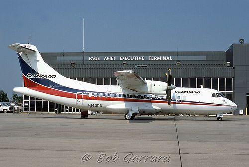 N140DD Command Airways | ATR-42-300 (cn 009) Command was the… | Flickr