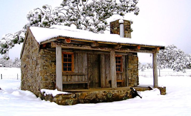 Moonbah Hut in the Snowy Mountains