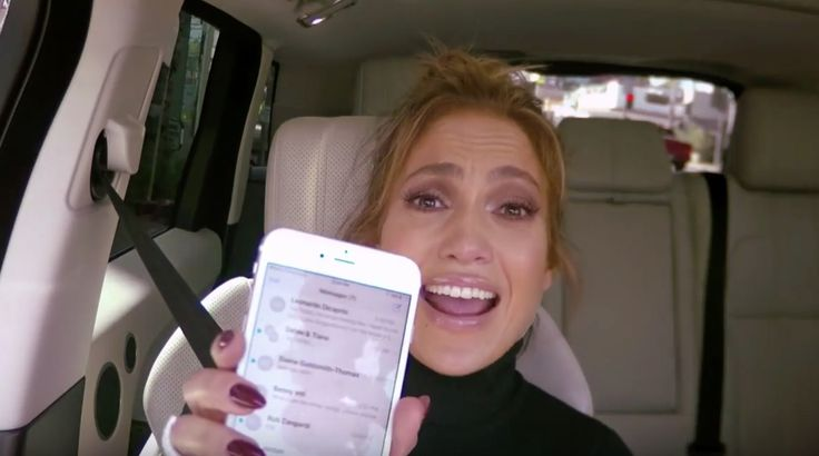 Jennifer Lopez Carpool Karaoke: James Corden texts Leonardo DiCaprio from singer's iPhone | News | Culture | The Independent