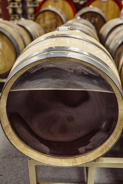 Inside A Coolship Barrel Backyard Brewery Beer