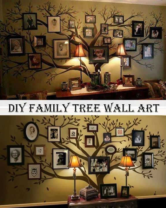 17 best ideas about tree wall decor on pinterest family for Family tree picture wall ideas