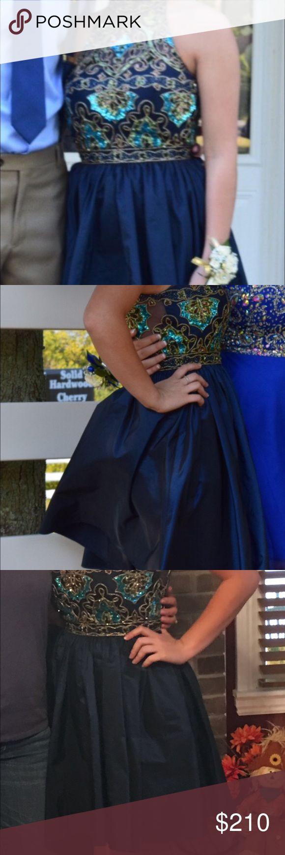 Sherri Hill Homecoming Dress Size 2. Worn once. No alterations. Sherri Hill Dresses Prom