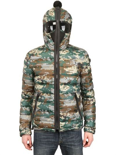 AI RIDERS ON THE STORM - REVERSIBLE TOTAL ZIP UP DOWN JACKET - LUISAVIAROMA - LUXURY SHOPPING WORLDWIDE SHIPPING - FLORENCE