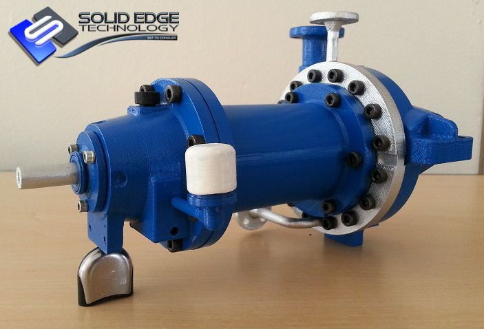 3D Printed by Solid Edge Technology. RPH MDP 25-230.