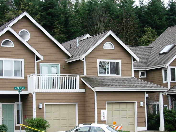 mix and match exterior paint color combinations tips inspired in brown