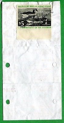 ARKANSAS 1976 Resident Hunting License W/ RW43 Duck Stamp - 702