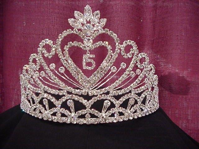 Quinceanera Crown Quinceanera Quinceanera Tiaras White