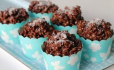 These cute chocolate crackles have just three ingredients and none of them are the dreaded Copha! These aren't health food but they are EASY!
