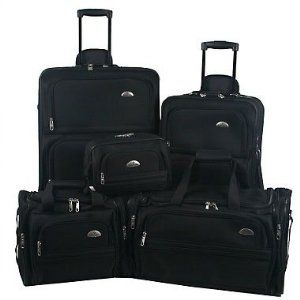 Name-brand luggage for a bargain price -Samsonite Outpost 5 Piece Nested Luggage Set.