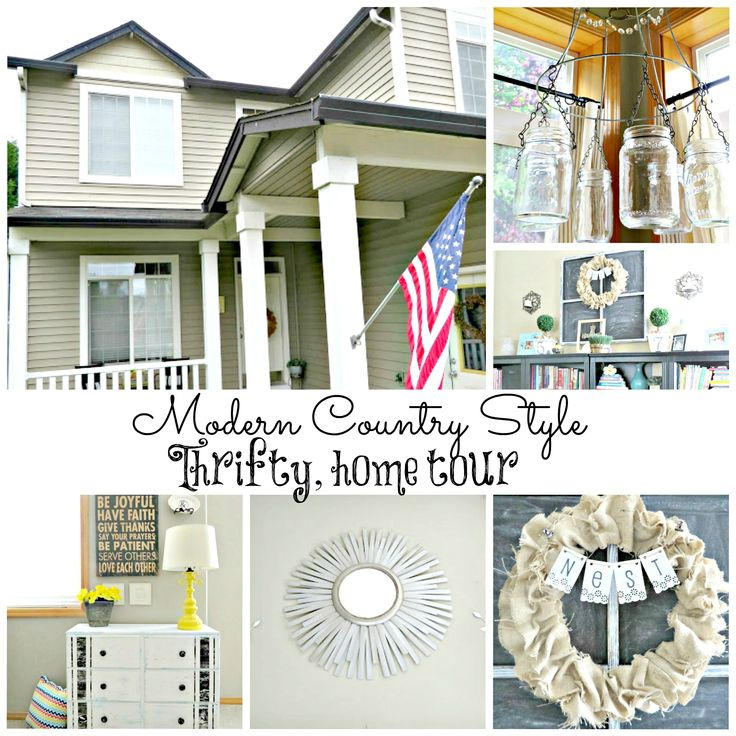 15 Thrifty And Chic Diy Home Decorating Ideas: 1000+ Ideas About Modern Country Style On Pinterest