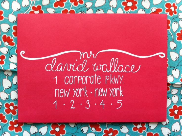 Calligraphy and Envelope Addressing-I must learn to do this!